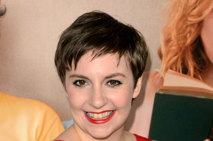 "Actress Lena Dunham attends the premiere Of Universal Pictures' ""This Is 40"" at Grauman's Chinese Theatre on December 12, 2012 in Hollywood, California."