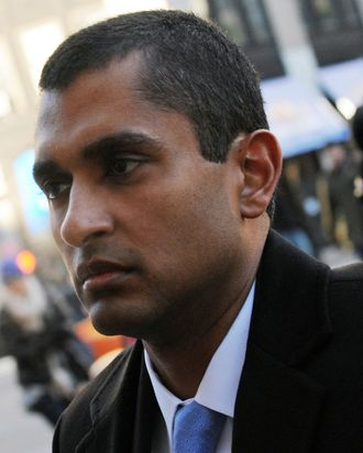 Mathew Martoma, a former portfolio manager with SAC Capital Advisors LP, arrives at federal court in New York, U.S., on Tuesday, Jan. 7, 2014.