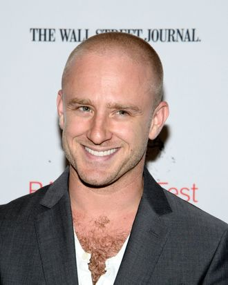 Actor Ben Foster attends BAMcinemaFest 2013 and The Cinema Society host the Opening Night premiere of