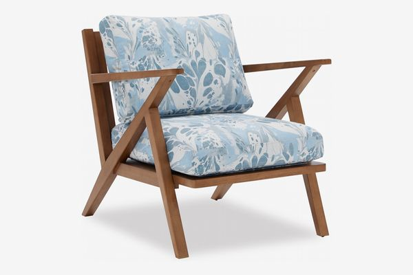 Vintage Marble Mid-Century Accent Chair by Drew Barrymore Flower Home