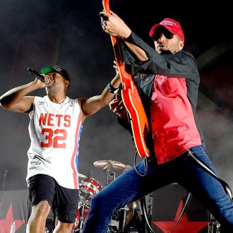 Prophets Of Rage Perform At The Forum