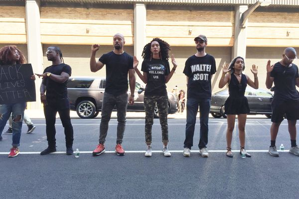 The Activist Behind Fashion Week's #BLM Protests