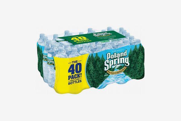 Poland Spring 100% Natural Spring Water (40-Pack)
