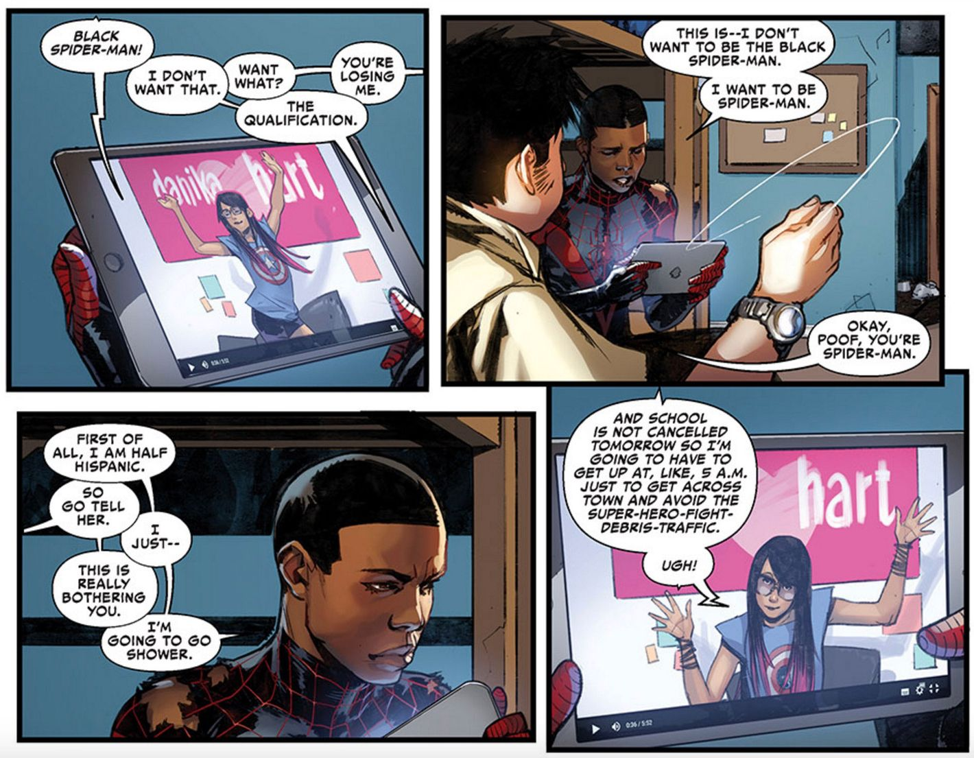 Miles Morales of 'Into the Spider-Verse': The Race Problem