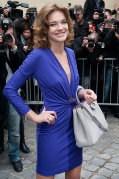 Natalia Vodianova arrives at the Christian Dior Ready-To-Wear Fall/Winter 2012 show as part of Paris Fashion Week on March 2, 2012 in Paris, France.