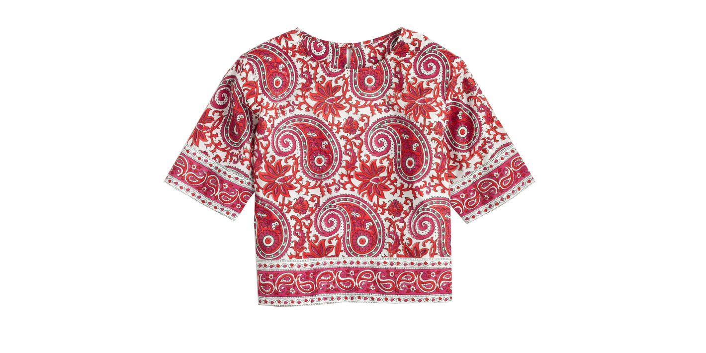 SZ Blockprints for J.Crew Top