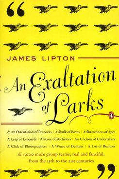 An Exaltation of Larks, James Lipton