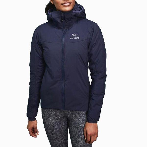 womens black arc'teryx atom insulated hoodie - strategist rei winter sale
