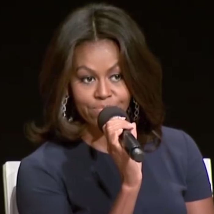 Michelle Obama No Boy Is Cute Enough To Keep You From Getting An