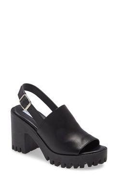Steve Madden Sunnyside Block-Heel Sling-back Sandal