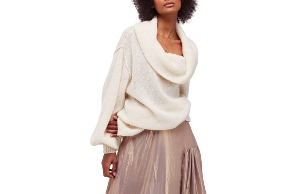 Free People Ophelia Off the Shoulder Sweater