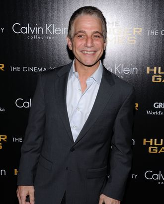 NEW YORK, NY - MARCH 20: Actor Tony Danza attends the Cinema Society & Calvin Klein Collection screening of