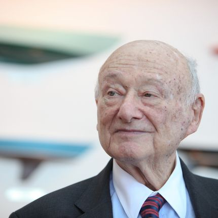 NEW YORK, NY - MAY 19:  Ed Koch speaks at the renaming of the Queensboro Bridge in his honor at The Water Club Restaurant on May 19, 2011 in New York City.  (Photo by JP Yim/Getty Images)
