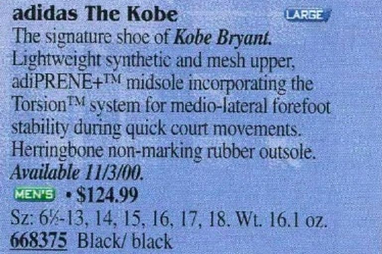 buy online 52aba a2ff6 Kobe Bryant Had the Worst Signature Sneakers in History. That Only Proved  His Greatness.