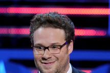 CULVER CITY, CA - AUGUST 25:  Roast Master Seth Rogen speaks onstage during The Comedy Central Roast of James Franco at Culver Studios on August 25, 2013 in Culver City, California. The Comedy Central Roast Of James Franco will air on September 2 at 10:00 p.m. ET/PT.  (Photo by Kevin Winter/Getty Images for Comedy Central)