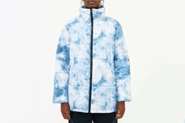Which We Want Leigh Tie Dye Puffer Jacket