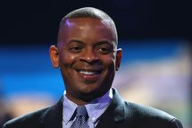CHARLOTTE, NC - AUGUST 31:  Mayor of Charlotte, Anthony Foxx, speaks to the media during the Democratic National Convention Committee Unveiling Stage for the DNC at Time Warner Cable Arena on August 31, 2012 in Charlotte, North Carolina.  (Photo by Streeter Lecka/Getty Images)