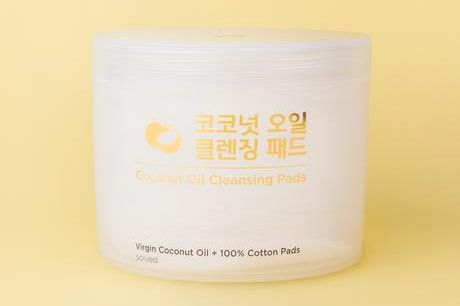 Solved Skincare Coconut Oil Cleansing Pads