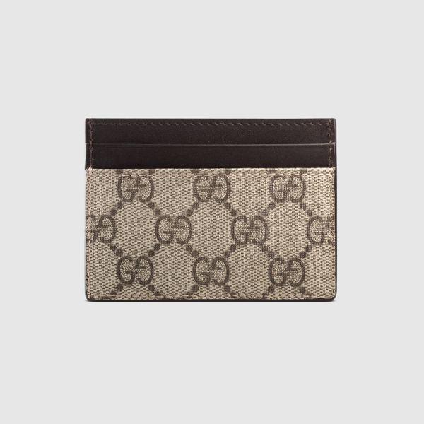 Gucci Canvas Card Case