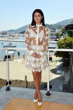 ISCHIA, ITALY - JULY 19:  Selena Gomez attends Day 8 of Ischia Global Film & Music Fest 2014  on July 19, 2014 in Ischia, Italy.  (Photo by Venturelli/Getty Images)