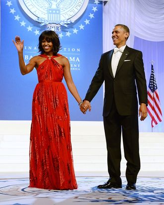 michelle obamas 2013 inauguration gown headed to the smithsonian