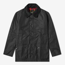 Barbour Ashby Wax Jacket (Black)