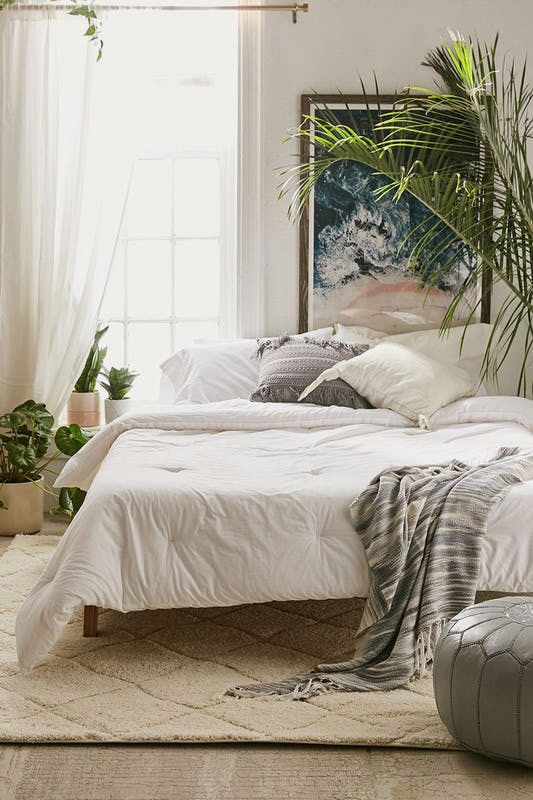 Washed Cotton Comforter Snooze Set