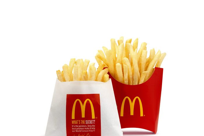 Fry Guys Japanese Teens Holding Mcdonald S Potato Parties