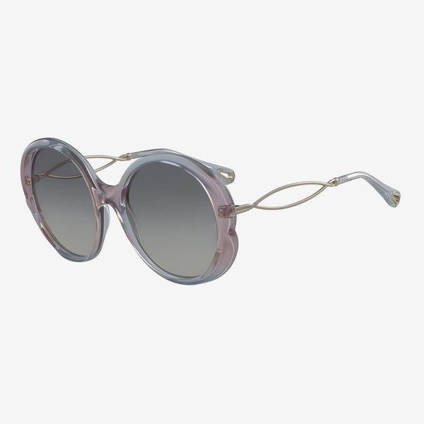Chloé 57mm Oval Sunglasses