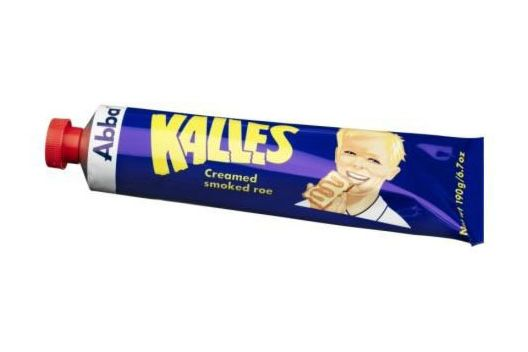 Kalles Creamed Smoked Cod Roe Spread by Abba
