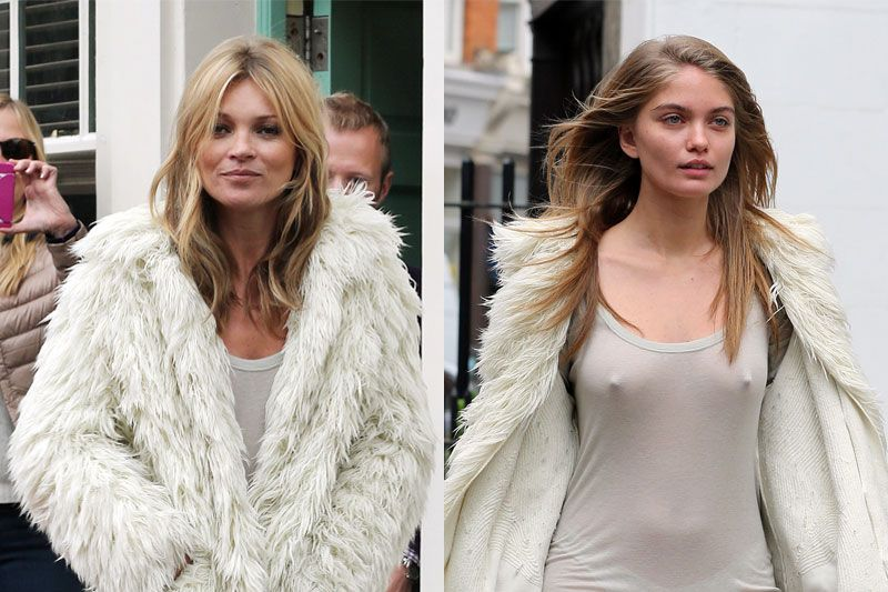 Natalie Morris body double of Kate Moss