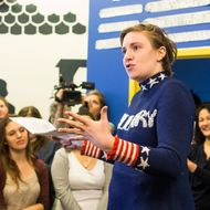 Lena Dunham And Abby Wambach Attend Women For Hillary Events