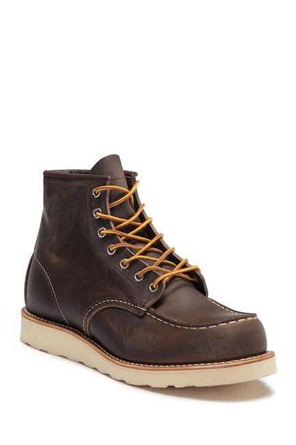 """Red Wing 6"""" Moc Toe Boot (Factory Second)"""