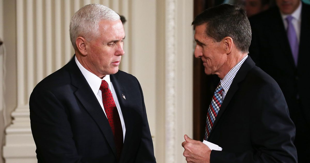 Pence Denies He Knew Anything About Flynn, Though That Was His Job