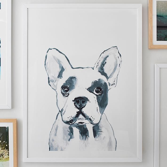 Hey Mr. Dog Wall Art by Minted
