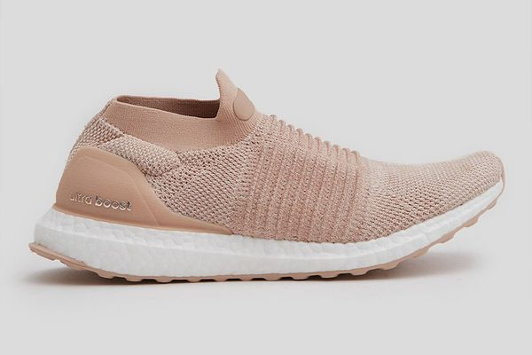 Adidas UltraBOOST Laceless in Pink for Women