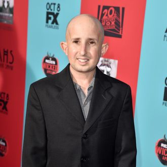HOLLYWOOD, CA - OCTOBER 05: Actor Ben Woolf attends the premiere screening of FX's