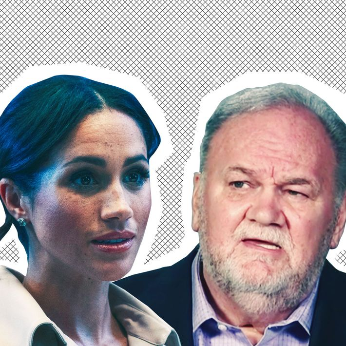 Meghan Markle and Thomas Markle Sr.