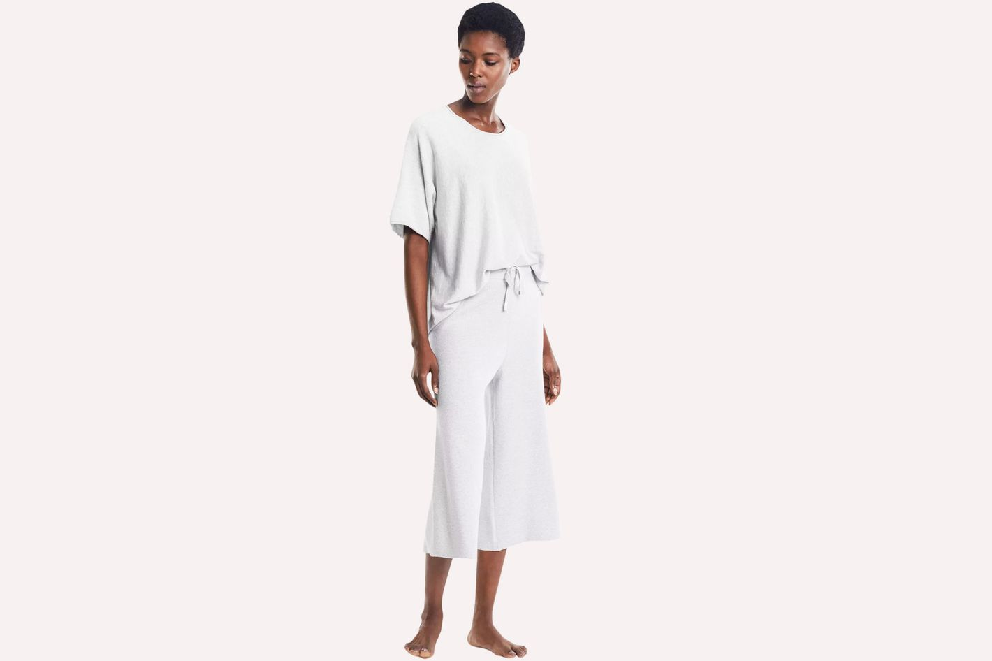 The Cotton Cashmere Pajama Set