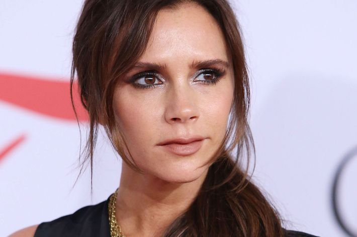 Victoria Beckham is designing posh makeup.