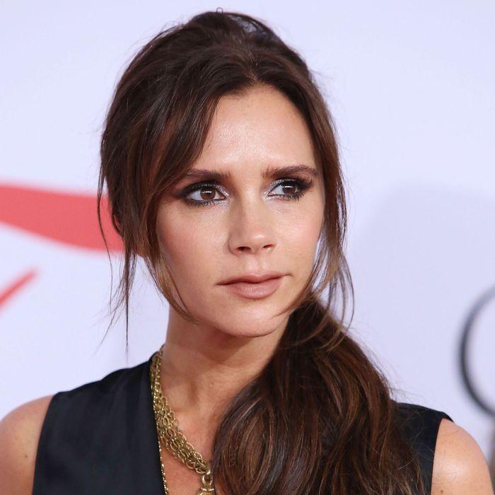 Victoria Beckham is designing posh makeup.