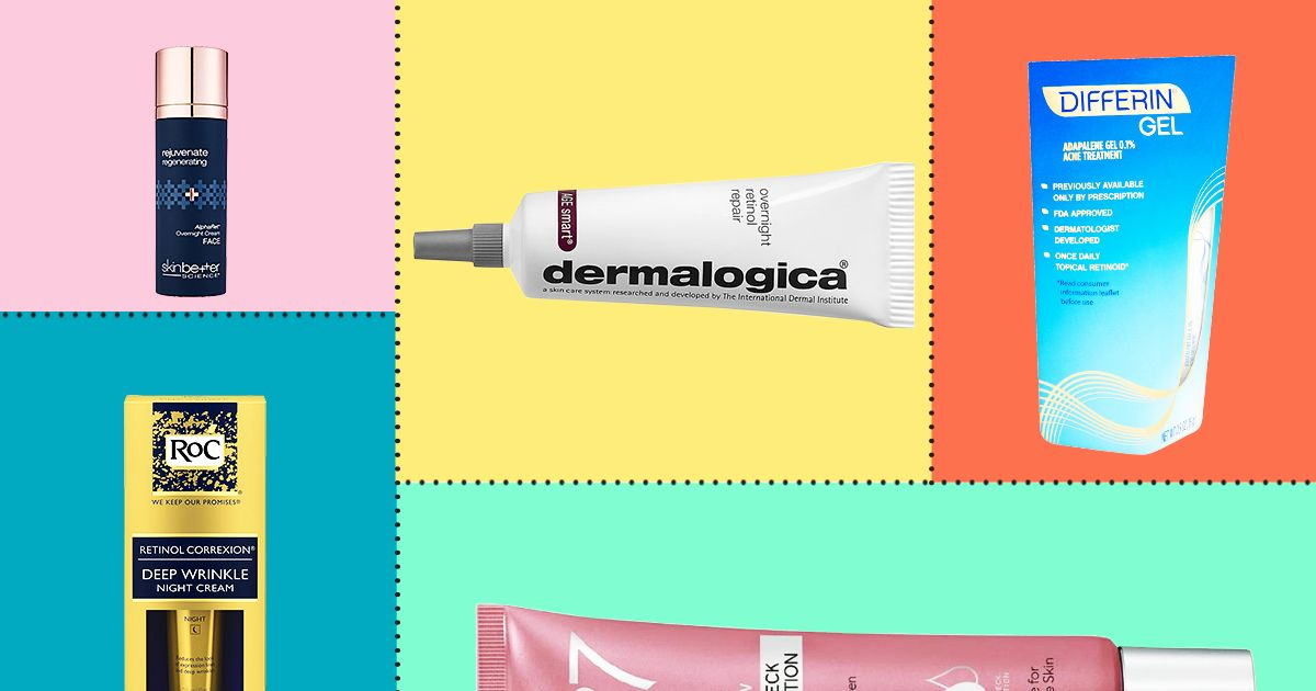 6b9ab820392 The Best Retinol Products for Every Skin Type 2018
