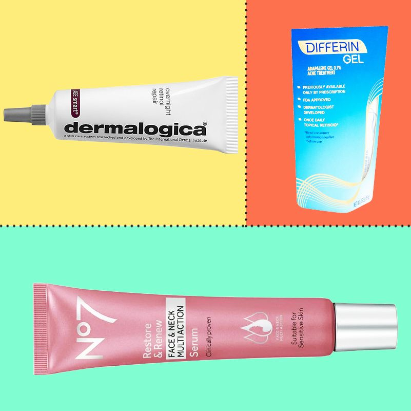 The Best Retinol Products For Every Skin Type 2018 The