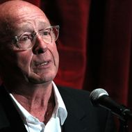 "LOS ANGELES, CA - MAY 17:  Director Tony Scott speaks onstage before the screening of ""Top Gun"" during AFI & Walt Disney Pictures' ""A Cinematic Celebration of Jerry Bruckheimer"" held at the Mann Chinese 6 on May 17, 2010 in Los Angeles, California.  (Photo by Alexandra Wyman/Getty Images for AFI) *** Local Caption *** Tony Scott"