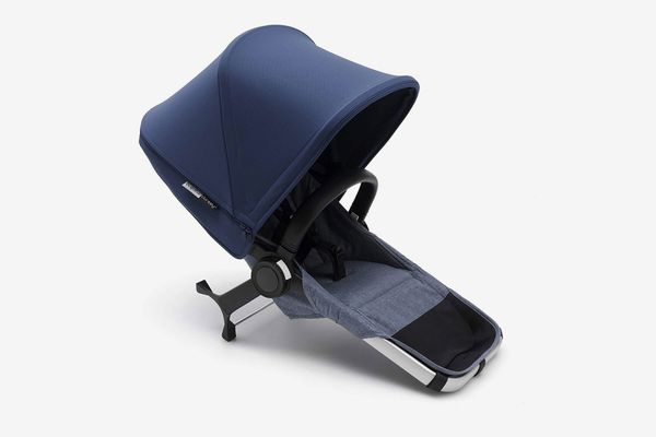 Bugaboo Donkey2 Complete Duo Extension Set, Blue Mélange/Sky Blue