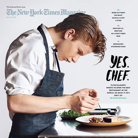Is this America's greatest culinary talent, growing up right in front of our eyes?