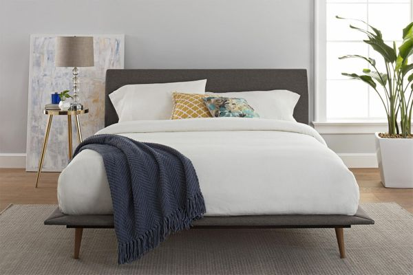 Better Homes and Gardens Flynn Mid Century Bed, Queen