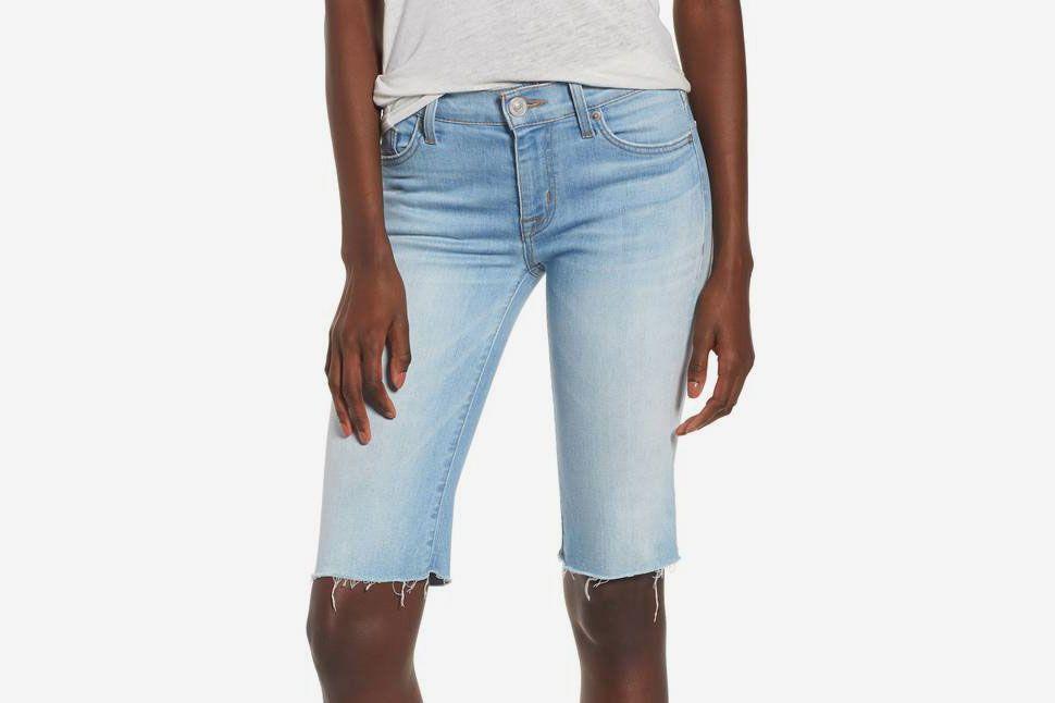 7cdb378dfa Hudson Jeans Amelia Cutoff Knee Shorts