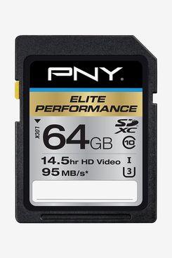 PNY Elite Performance 64GB SD Card