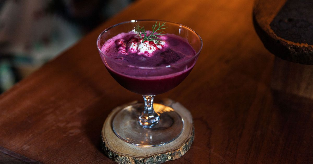 Hey, Look! A Cocktail Inspired by Beet Salads